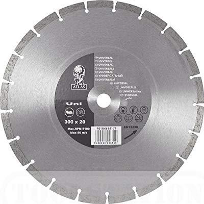 Gyémánttárcsa 230 mm Uni, Atlasz