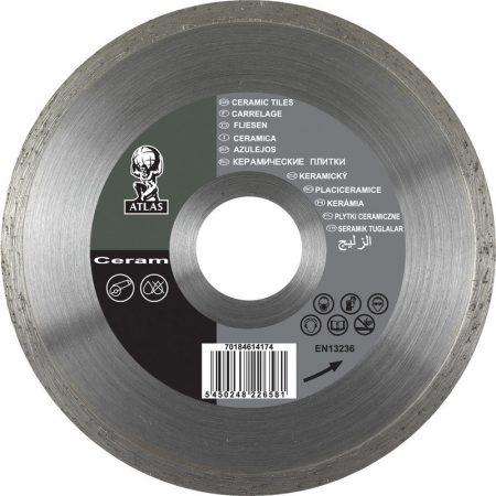 Gyémánttárcsa 125mm Ceram, Atlasz
