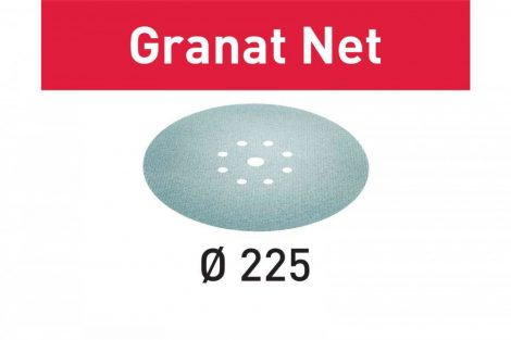 FESTOOL Hálós csiszolóanyagok Granat Net STF D225 P180 GR NET/25 db-os csomag