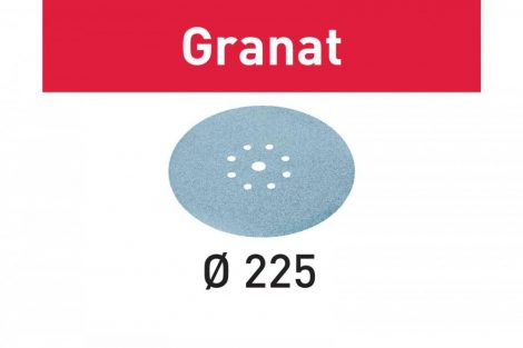 FESTOOL Csiszolópapír Granat STF D225/128 P180 GR/25 db-os csomag
