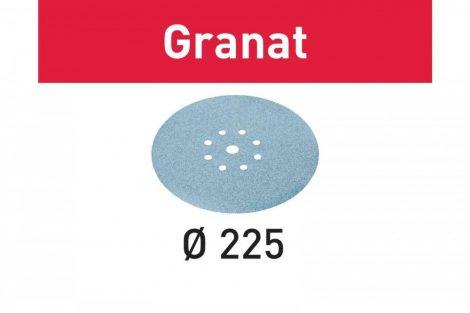 FESTOOL Csiszolópapír Granat STF D225/128 P240 GR/25 db-os csomag