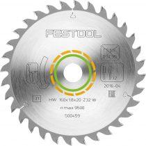 Festool Sűrűfogazású fűrészlap 216X2,3X30 W48