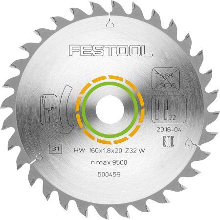 Festool Sűrűfogazású fűrészlap 160x2,2x20 W48