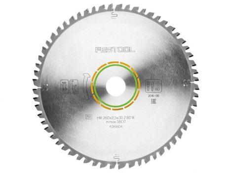 Festool Univerzális körfűrészlap 260X2,5X30 W60