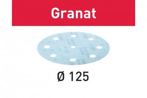 FESTOOL Csiszolópapír Granat STF D125/8 P80 GR/10