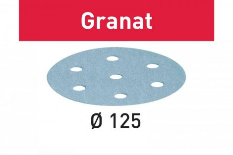 FESTOOL Csiszolópapír Granat STF D125/8 P220 GR/100