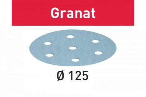 FESTOOL Csiszolópapír Granat STF D125/8 P500 GR/100