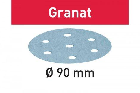 FESTOOL Csiszolópapír Granat STF D90/6 P180 GR/100 db-os csomag