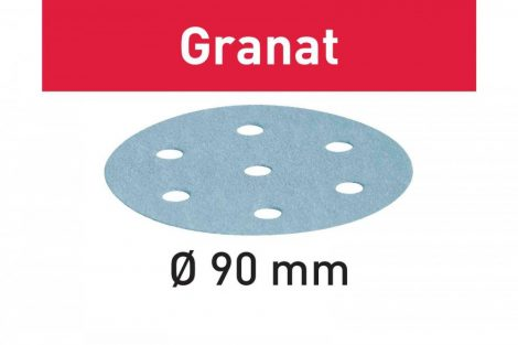 FESTOOL Csiszolópapír Granat STF D90/6 P220 GR/100 db-os csomag