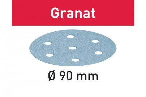 FESTOOL Csiszolópapír Granat STF D90/6 P500 GR/100 db-os csomag