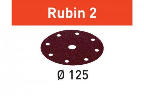 FESTOOL Csiszolópapír Rubin 2 STF D125/8 P100 RU2/50