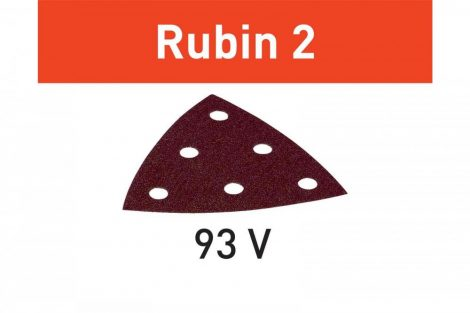 FESTOOLCsiszolólap Rubin 2 STF V93/6 P40 RU2/50 db-os csomag
