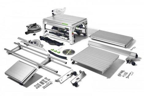 Asztali vonófűrész Festool PRECISIO CS 70 EBG-Set