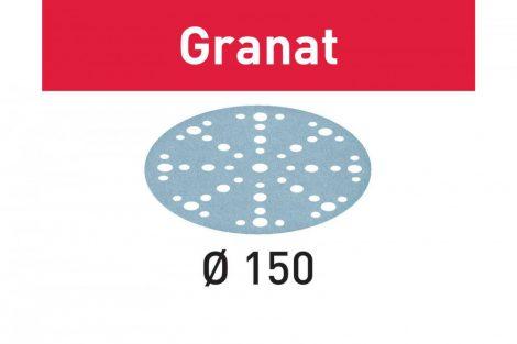 FESTOOL Csiszolópapír Granat STF D150/48 P500 GR/100 db-os csomag