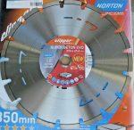 Gyémánttárcsa 350x25,4mm NORTON CLIPPER SUPER BETON EVO