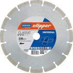 Gyémánttárcsa 230X22.23  NORTON CLIPPER-CLASSIC UNIVERSAL