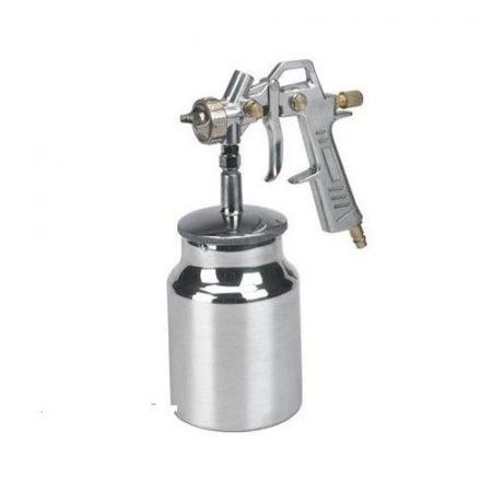 Festékszóró pisztoly HVLP 1l alumínium tartállyal 1,7 mm fuvóka JONNESWAY