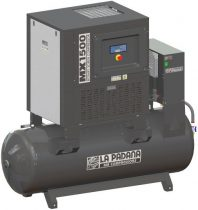 Csavarkompresszor  500l-es szárítóval, 11kW -  MX 1500-500E  LA PADANA