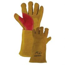 Hegesztő kesztyű sárga/piros Panther prémium Co Parweld