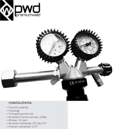 Nyomáscsökkentő  PWD PRO-REG AR/CO2 Parweld