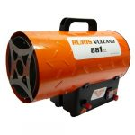 Hőlégfúvó RURIS Vulcano 881 (gázos)